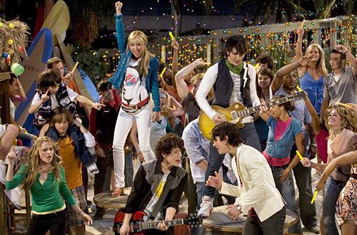 Hannah Montana y los Jonas Brothers